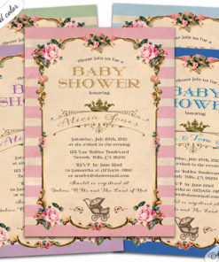 royal-carriage-crown-printable-printed-baby-shower-invitations-